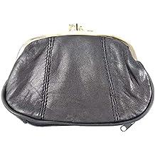 33deb491f7962 Emporium Leather Damen Luxus weiches Leder Clipverschluss Portemonnaie in 4  Farben 1477