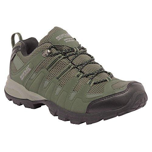 Regatta Garsdale Low chaussure de randonnee - Noir/gris