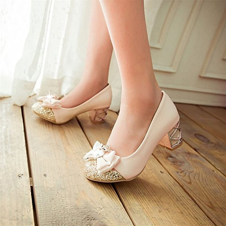 Wuyulunbi Chaussures Chaussures Des Robes Avec Cristal De OrqRTOw