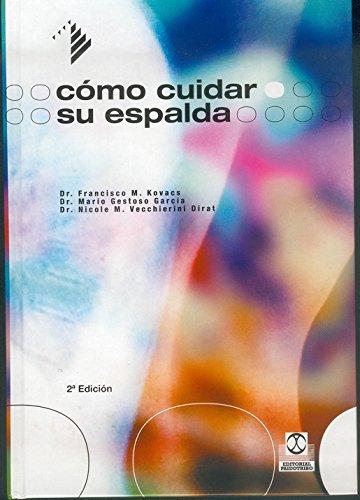 Cómo cuidar su espalda (Salud nº 3) (Spanish Edition)