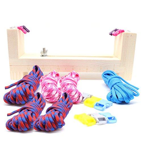 d Armbändern Halsbändern Maker Kordeln Seile zur Herstellung DIY Handwerk Werkzeug (Seil-armband-herstellung)
