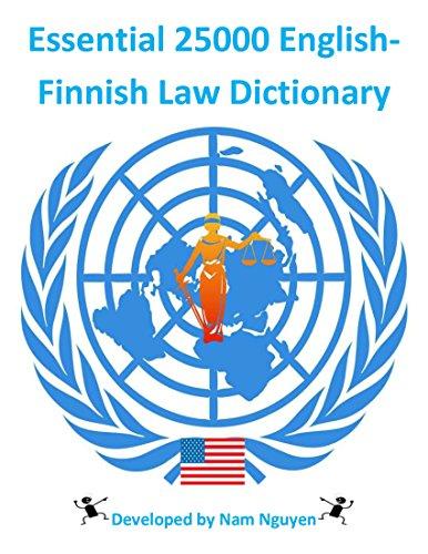 Descargar Epub Essential 25000 English-Finnish Law Dictionary