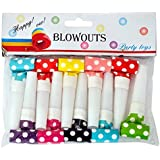 Wanna Party Polka Dot Blowouts (10 Piece)