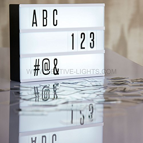 Individuell gestaltbar LED Kino Leichte Box