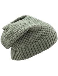 Damen Herren Mädchen Jungen Unisex Slouch Beanie Wintermütze Mütze Strickmütze Wollmütze Cap Hat Barett in verschiedenen Farben