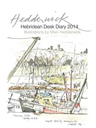 Hebridean Desk Diary 2014 (Desk Diaries)