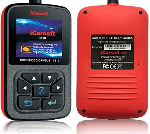 Preisvergleich Produktbild iCarsoft i810 Diagnosegerät OBD2 Diagnose Motorlampe löschen XXLTECH