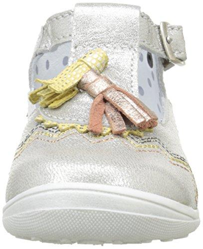 Catimini Cordyline, Chaussures Marche Bébé Fille Beige (13 Vte Beige Argente Dpf/Gluck)