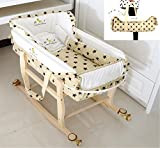 Lvbeis Baby Stubenwagen-Set Tragbar körbchen Moses Abnehmbar