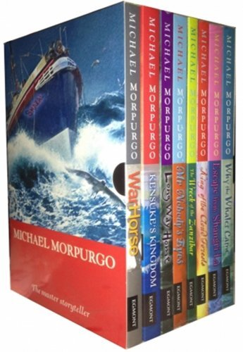 Michael Morpurgo Collection Childrens 8 Books Set Boxed (King of the Cloud Fo...