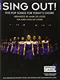 Sing Out] 5 Pop Songs For Today's Choirs - Book 2 (Book/Audio Download)