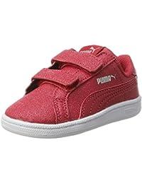 Puma Unisex-Kinder Smash Glitz SL V Inf Sneaker