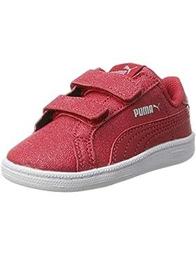 Puma Smash Glitz SL V Inf, Zapatillas Unisex niños