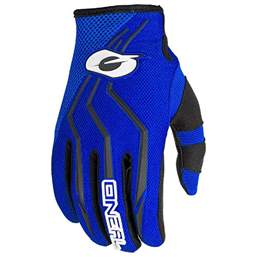 O'Neal Element MX Handschuhe Motocross TPR DH Downhill Enduro Offroad Mountain Bike, 0392, Farbe Blau, Größe S (Off-road-mountain-bike)