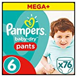 Pampers Baby-Dry Pants Gr.6, 16+kg, 76 Windeln, 76…
