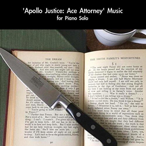 Phoenix Wright Music (From 'Apollo Justice: Ace Attorney') Soundtrack [For Piano Solo]