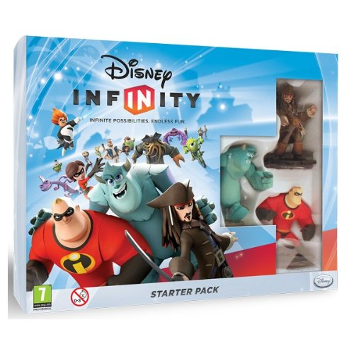 NEW & SEALED! Disney Infinity Starter Pack Sony Playstation 3 PS3 Game UK PAL