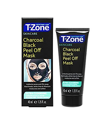 Newtons Labs T-Zone Charcoal Black Peel Off Mask, 40 ml by Newtons Labs