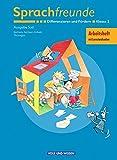 Sprachfreunde - Ausgabe Süd 2004 (Sachsen, Sachsen-Anhalt, Thüringen): 2. Schuljahr - Differenzieren und Fördern: Arbeitsheft. Mit Lernstandsseiten