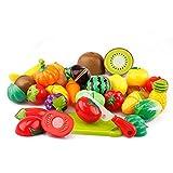 20PCS/29PCS Kinder Küchenspielzeug Kunststoff Lebensmittel Pädagogisches Spielzeug (29tlg)