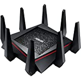 Asus RT-AC5300 Tri-band 4x4 Gigabit Wireless Gaming Router con AiProtection Powered by Trend Micro