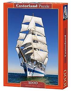 Castor País C de 104239-2Under Full Sail, Puzzle de 1000Piezas