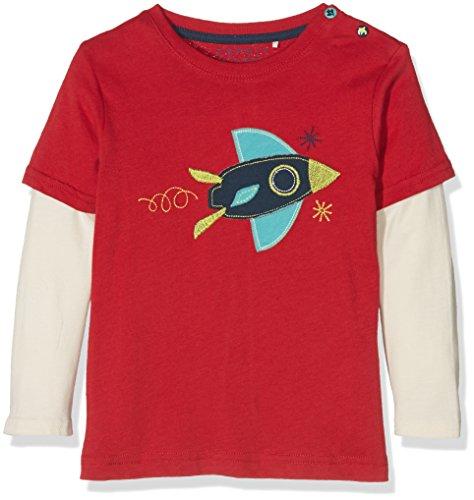 Esprit Baby-Jungen Langarm RI1014C T-Shirt, Rot, 74 (Herstellergröße: 74)