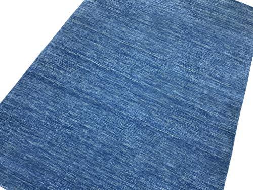 WAWA TEPPICHE Orientteppich Läufer Gabbeh Loom Handgefertigt Teppich 100% Wolle G-079 (80 x 395 cm) -