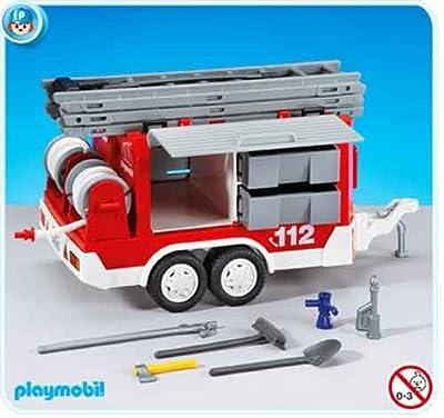 PLAYMOBIL® 7485 Feuerwehr-Anhänger (Folienverpackung)