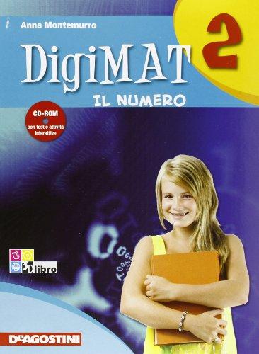 Digimat. Aritmetica. Con quaderno palestra INVALSI. Per la Scuola media. Con CD-ROM: DIGIMAT 2 ARIT+INV +CD
