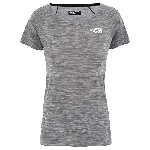 THE NORTH FACE Impendor Seamless Tee Women Größe M TNF Black White Heather (Womens North Face Tee)