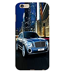 Fuson 3D Printed Marvelous Luxury Car Designer Back Case Cover for Apple iPhone 6S Plus - D811