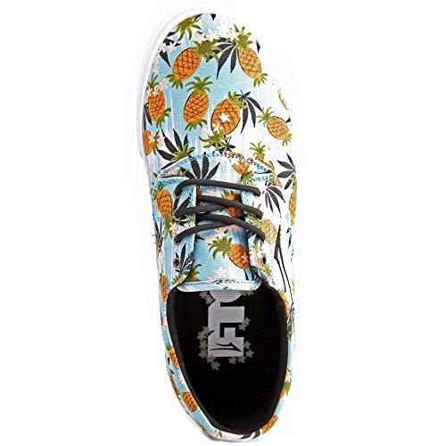 Skateboard Pour Wx6ehfqfb Homme Lakai Chaussures Bleu Ciel De rq50wr
