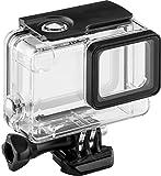 Goobay 73375 Unterwasser Schutzgehäuse für GoPro Hero 5 bis 35m klar/schwarz