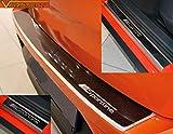V-Protect Set Ladekantenschutz Einstiegsleisten Lackschutz mit ABKANTUNG 5D Carbon auf AluNox® SPORTLINE (1184-605)