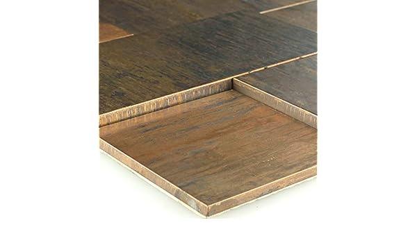 Kupfer Metall Design Mosaik Fliesen 30x98x8mm
