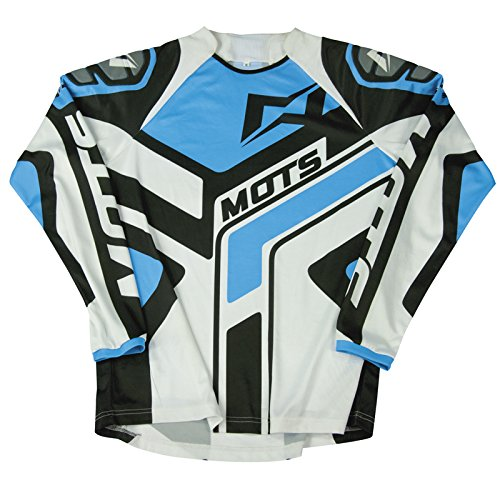 Mots mt2104sa Trial Step 2Maglietta, blu, taglia S