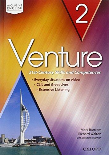Venture: standard. Student book-Workbook. Per le Scuole superiori. Con CD Audio. Con espansione online: Venture: standard. Starter & Student's Book & ... espansione online. Per le Scuole superiori: 2