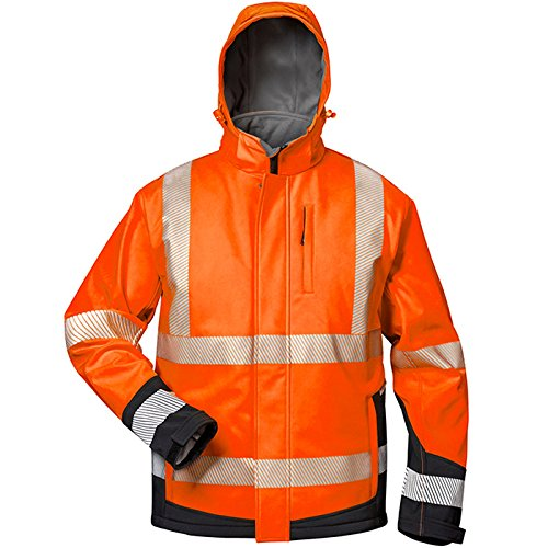 "elysee 23436–2 x L Größe 2 X Große""Lukas"" Winter softshell-coat – Fluo Orange/Black"
