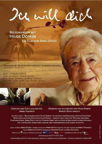 Ich will dich - Begegnungen mit Hilde Domin Plakat Movie Poster (11 x 17 Inches - 28cm x 44cm) (2007) German