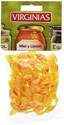 Industrias Rodrigue - Caramelos con sabor miel y limón - 130 g - [Pack de 3]