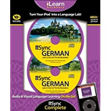iSync German Complete (iLearn Anywhere) (German Edition) by Ipod 2 X MP3 CD (2008-10-04)