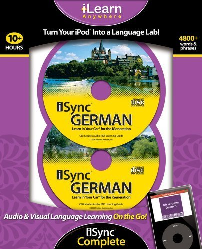 iSync German Complete (iLearn Anywhere) (German Edition) by Ipod 2 X MP3 CD (2008-10-04) 4 Ipod Mp3