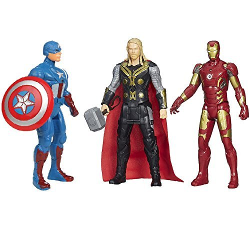 Avengers Toys Set - Captain America , Ironman & Thor - Infinity War 3 Hero collection