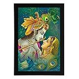Delight Radha Kanhaiya Digital Printed U...