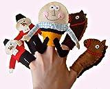 Humpty Dumpty Finger Puppets