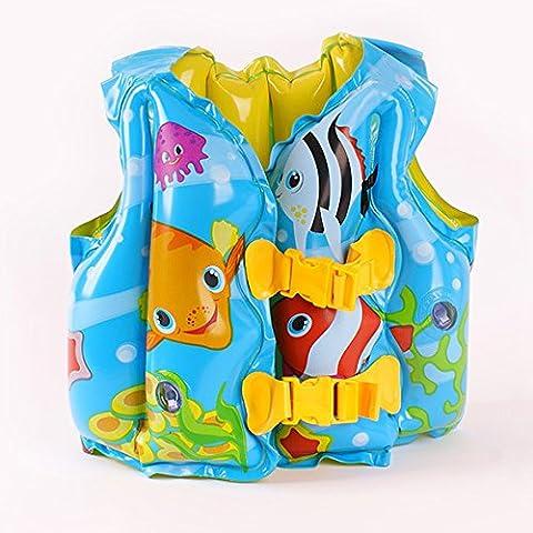 ZRLsylChildren der Schwimmweste Baby Baby Schwimmen Weste aufblasbare Weste Baby Badeanzug
