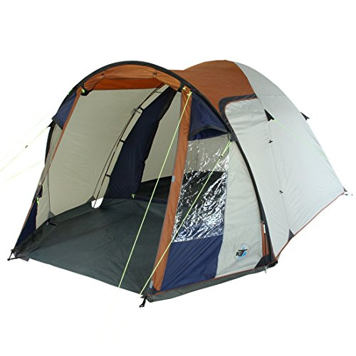 10t corowa 4 - tenda igloo per 4 persone con anticamera, 2 ingressi e finestre, 5000mm