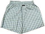Blacksmith Men's Cotton Boxer Shorts - Blue_L