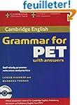 Cambridge Grammar for PET Book with A...